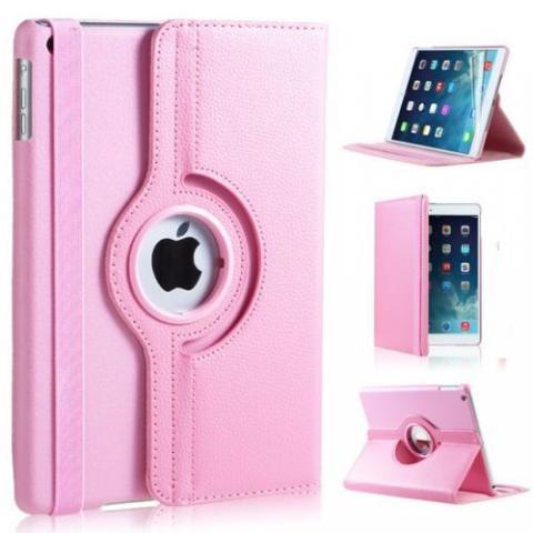 Чехол 360° Rotating Stand/Case для iPad 4/ iPad 3/ iPad 2 - нежно-розовый