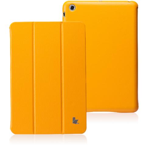 JisonCase Classic Smart Cover для iPad mini/mini 2 (Retina) желтый