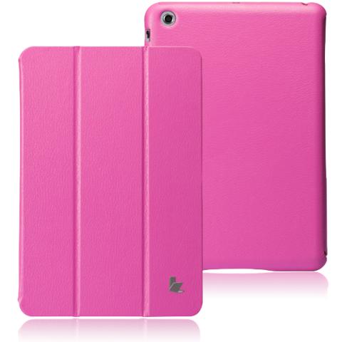 JisonCase Classic Smart Cover для iPad mini/mini 2 (Retina) малиновый