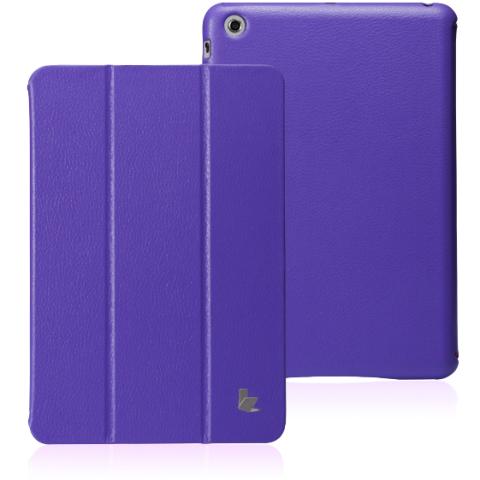JisonCase Classic Smart Cover для iPad mini/mini 2 (Retina) фиолетовый