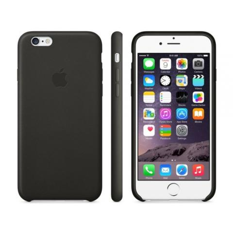 Apple Silicone Case for iPhone 6/6s - black (Hi-Copy)