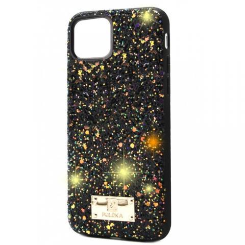Чехол Puloka Shiny Texture для iPhone 11 Pro Max Черный