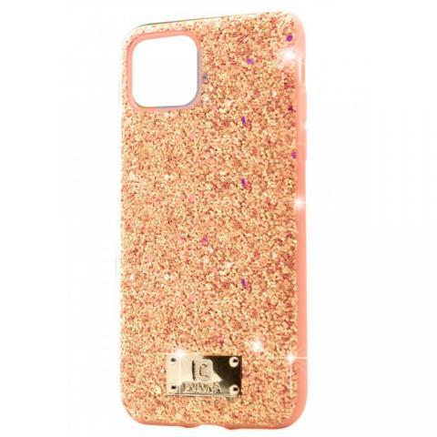 Чехол Puloka Shiny Texture для iPhone 11 Pro Max Розовый