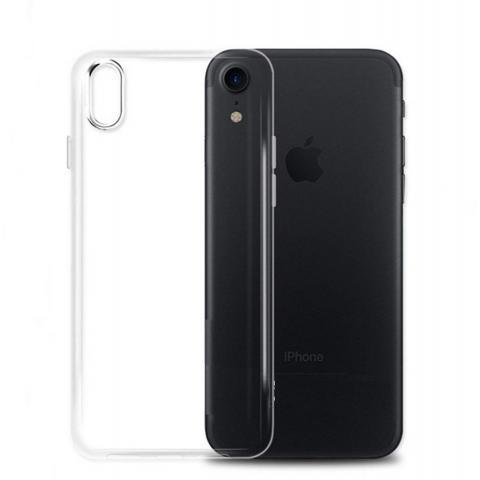 Силиконовый чехол для iPhone XR прозрачный
