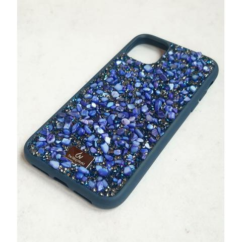 Чехол Bling World Pearl Diamonds (TPU) для iPhone 11 Rich Blue