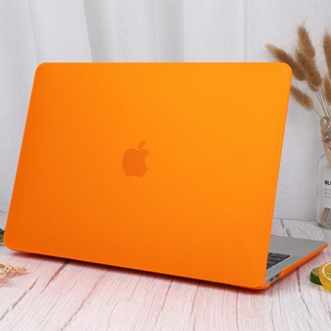 "Чехол накладка для Macbook Pro 16"" Orange"