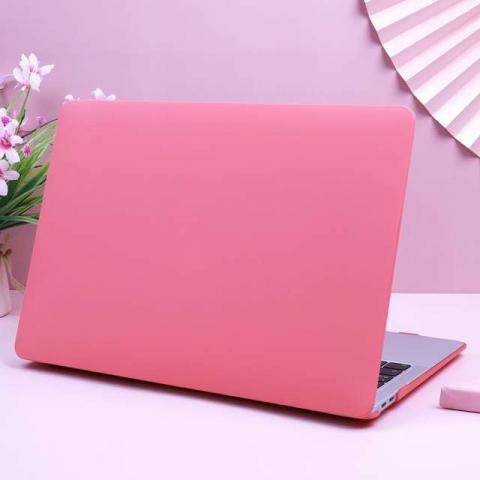 "Чехол-накладка HardShell Case Cream soft-touch для MacBook Air 13"" (2018-2020) Matte Pink"