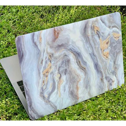 """Матовый чехол для MacBook Air 13"""" (2018-2020) Marble Grey"""