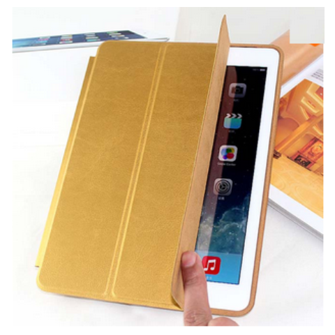 Apple Smart Case для iPad 2/3/4 Gold (Hi-copy)