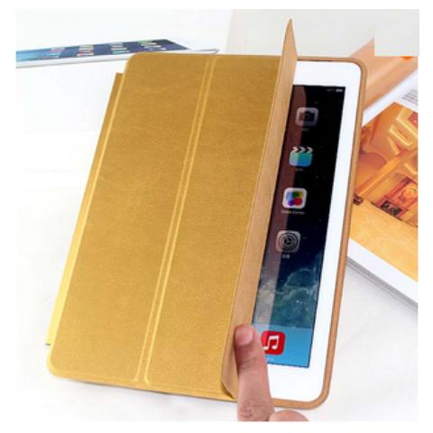 "Чехол Smart Case Polyurethane для iPad Pro 12.9"" (2017) - Gold"
