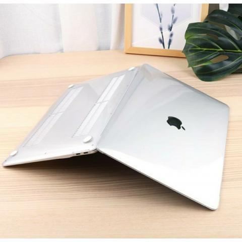"""Чехол накладка для Macbook Pro 16"""" Прозрачный"""