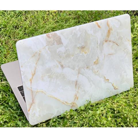 "Матовый чехол для MacBook Air 13"" (2018-2020) Marble Beige"