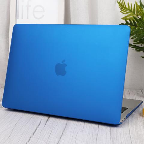 "Чехол накладка Matte Hard Shell Case for MacBook Air 13"" Ultra Blue"