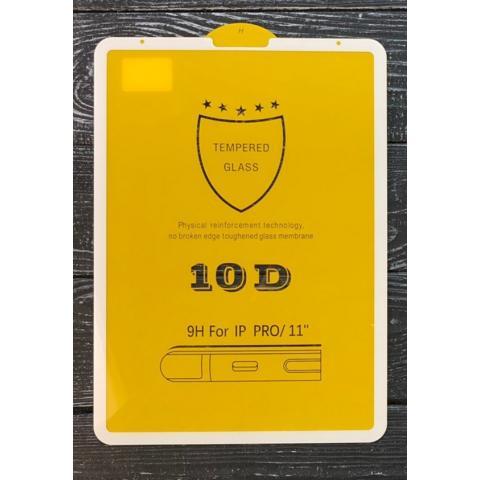 "Защитное стекло 10D для iPad 11"" (2019) -  White"