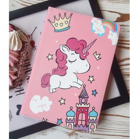 Чехол Print Case для iPad mini 5 (2019) - Unicorn Pink