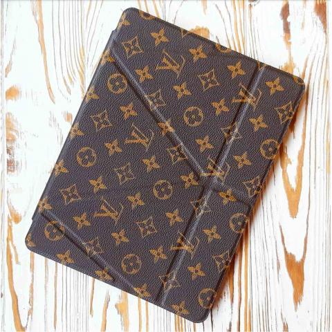 "Чехол Origami Leather Case для iPad 9.7"" (2017/2018) LV Monogram brown"