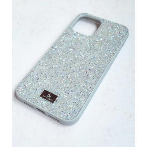 Чехол Bling World Pearl Diamonds (TPU) для iPhone 12/12 Pro White