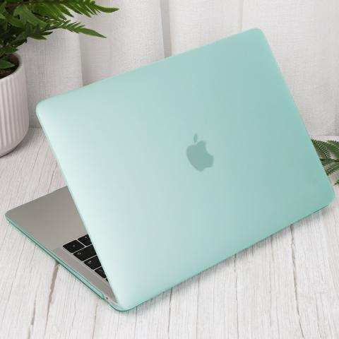 "Чехол накладка Matte Hard Shell Case for MacBook Air 13"" Mint"