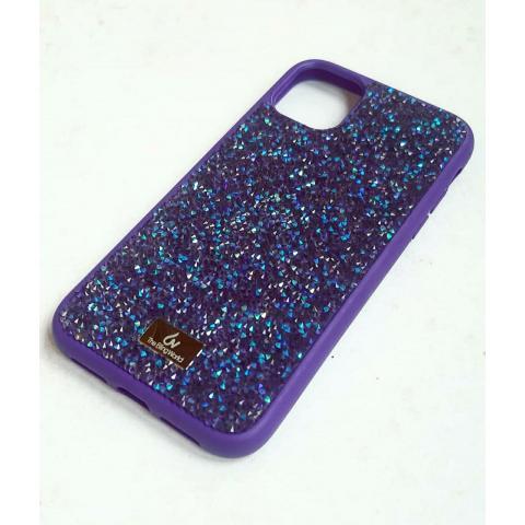 Чехол Bling World Pearl Diamonds (TPU) для iPhone 11 Pro Max Violet