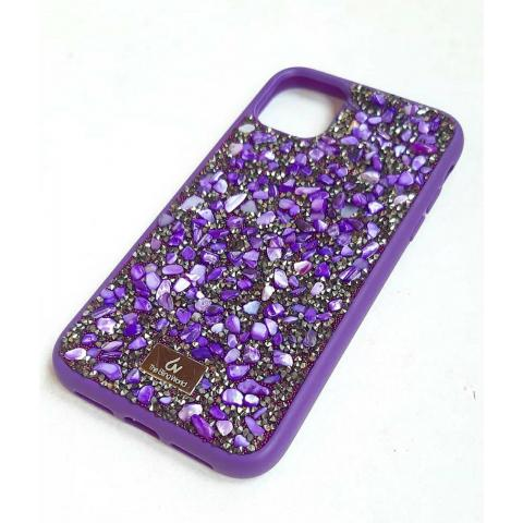 Чехол Bling World Pearl Diamonds (TPU) для iPhone 11 Purple