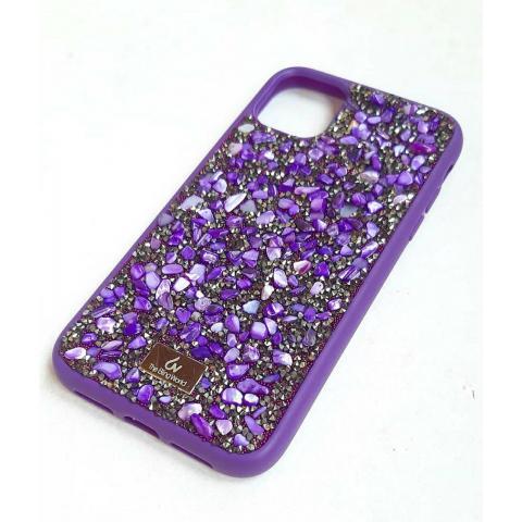 Чехол Bling World Pearl Diamonds (TPU) для iPhone 11 Pro Max Purple