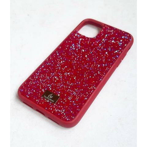 Чехол Bling World Pearl Diamonds (TPU) для iPhone 11 Pro Max Red