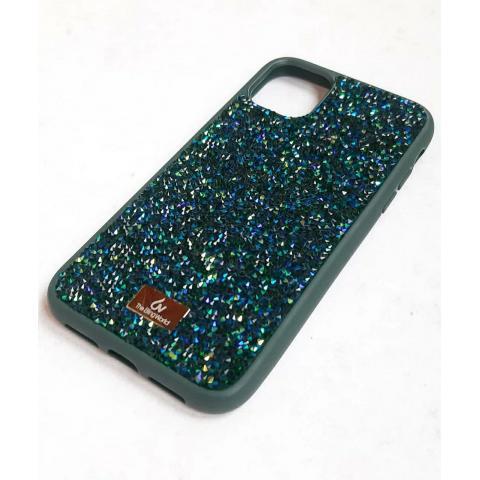 Чехол Bling World Pearl Diamonds (TPU) для iPhone 11 Pro Emerald