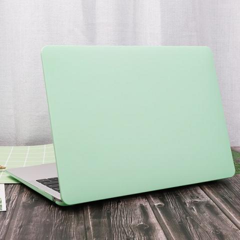 "Чехол-накладка HardShell Case Cream soft-touch для MacBook Air 13"" (2018-2020) Matte Mint"