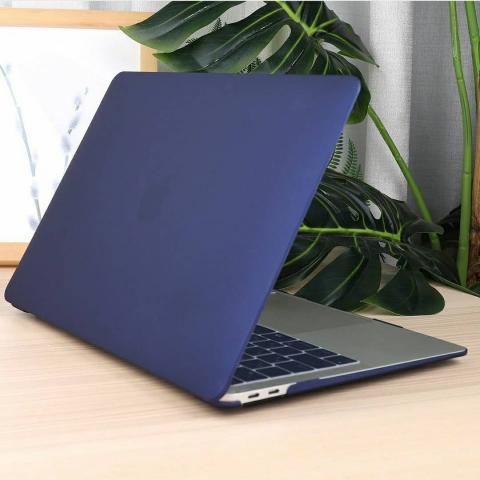 "Матовый чехол на MacBook Air 13"" (2018-2020) Midnight Blue"