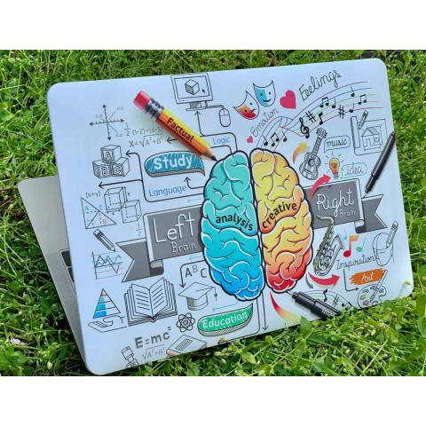 """Матовый чехол для MacBook Pro 13"""" (2016-2020) Einstein"""
