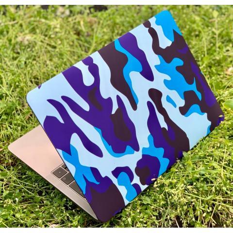 "Матовый чехол для MacBook Pro 13"" (2016-2020) Army Blue"