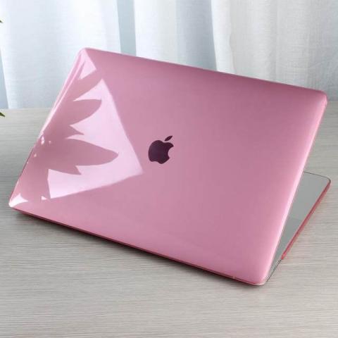 "Чехол накладка HardShell Case for MacBook Pro 13"" (2016-2020) Crystal Pink"