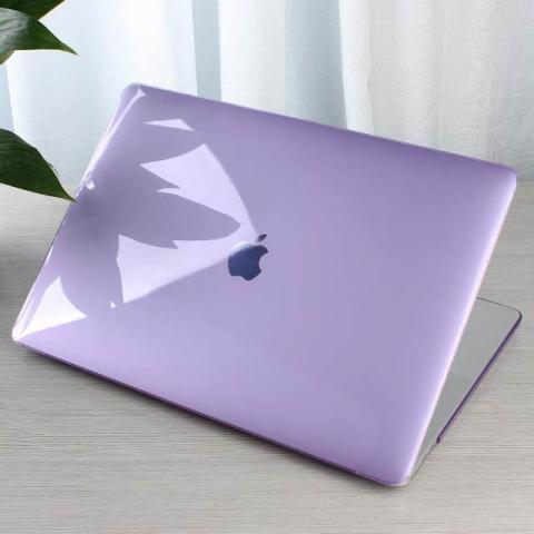 """Чехол накладка HardShell Case for MacBook Air 13"""" (2018-2020) Crystal Violet"""