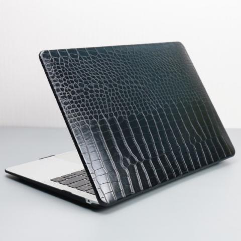"Чехол-накладка Crocodile HardShell Case for MacBook Air 13"" (2018-2020) Black"