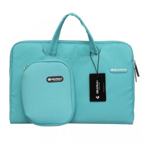 """Чехол-сумка WIWU Gearmax для MacBook 13""""/MacBook 13,3"""" Campus Slim Series Sea Blue"""