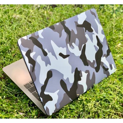 "Матовый чехол для MacBook Air 13"" (2018-2020) Army Grey"