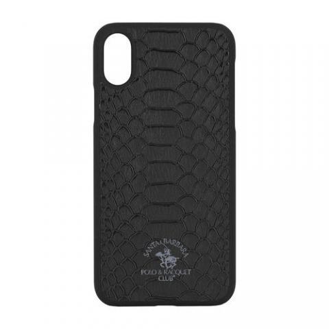 Чехол-накладка для iPhone XS Max Santa Barbara Knight - Black