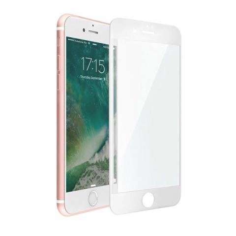 Защитное стекло 3D Curved Tempered Glass White для iPhone 7 Plus