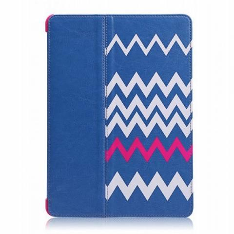 "Чехол Miracase Heartbeat Booklet case для iPad 9.7"" (2017/2018) - Blue/Purple"