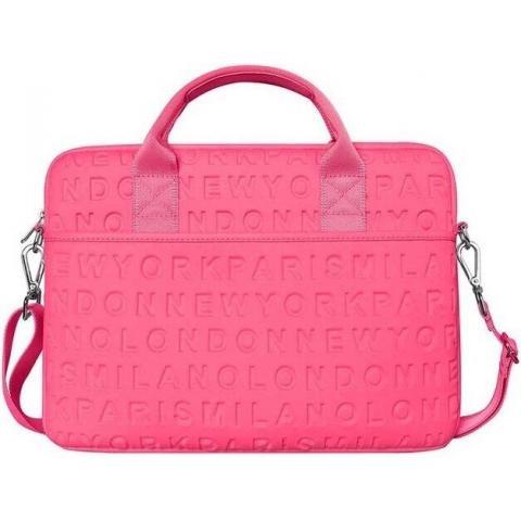 "Сумка WIWU Vogue Laptop Slim Bag for MacBook 13,3"" - Hot Pink"