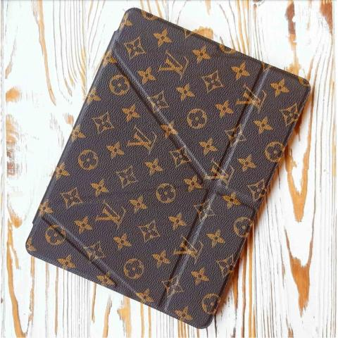 Чехол Origami Leather Case с держателем для стилуса для iPad Mini/ Mini 2/ Mini 3 LV Monogram brown