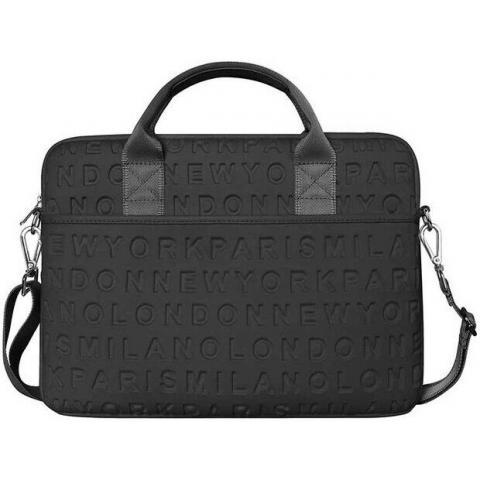 "Сумка WIWU Vogue Laptop Slim Bag for MacBook 15/16"" - Black"