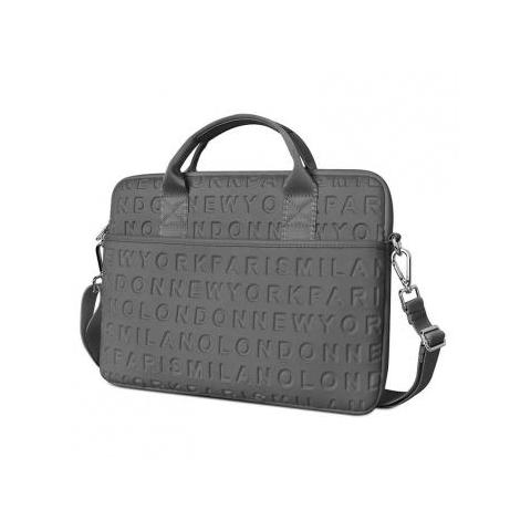"Сумка WIWU Vogue Laptop Slim Bag for MacBook 15/16"" - Grey"