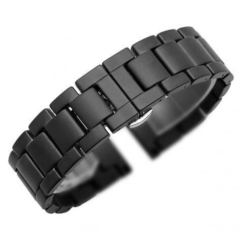 Ремешок для Apple watch 42/44 mm Ceramic Matte Loop Black