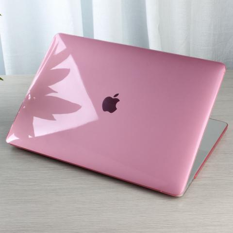 "Чехол накладка HardShell Case for MacBook Air 13"" (2018-2020) Crystal Pink"