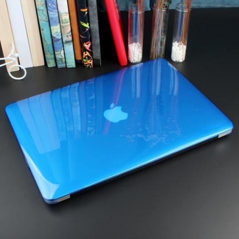 """Чехол накладка HardShell Case for MacBook Air 13"""" (2018-2020) Crystal Blue"""