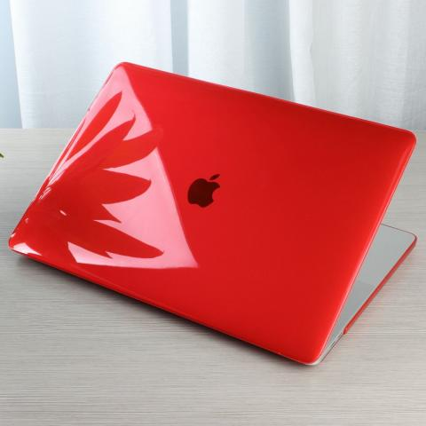 "Чехол накладка HardShell Case for MacBook Pro 13"" (2016-2020) Crystal Red"