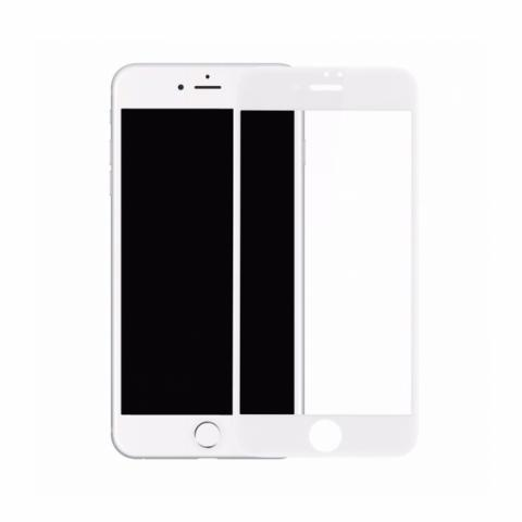 Защитное стекло Baseus PET Soft 3D Tempered Glass 0.23mm White для iPhone 7