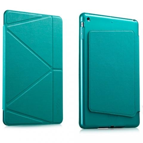 Чехол IMAX Origami для iPad 4/ iPad 3/ iPad 2 - Бирюзовый