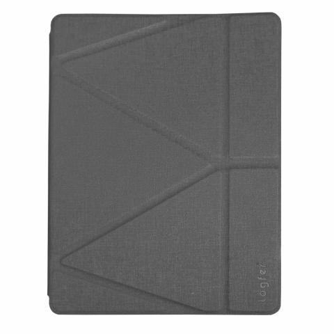 """Чехол Logfer с держателем для стилуса для iPad Pro 12.9"""" (2017) - серый"""